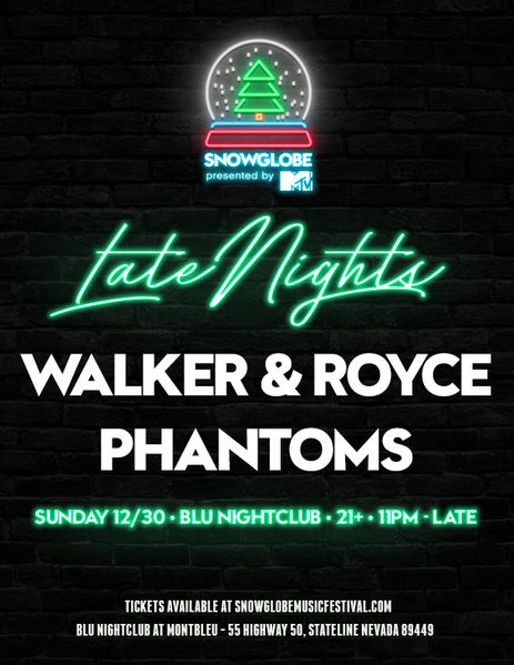 Opening for Walker & Royce! Sunday Dec. 30th!